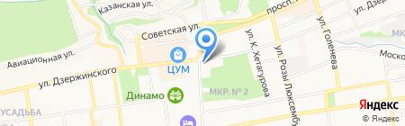 Мастерская подарковЪ на карте Ставрополя