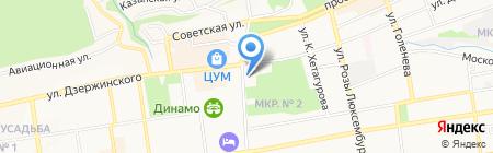 Почтовое отделение №35 на карте Ставрополя