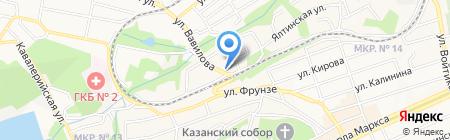 OpenSky на карте Ставрополя