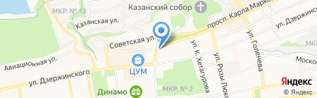 Jazzve на карте Ставрополя