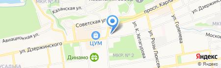 Банкомат АКБ Авангард на карте Ставрополя