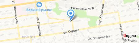 Granat на карте Ставрополя