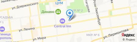 Городская детская стоматологическая поликлиника на карте Ставрополя