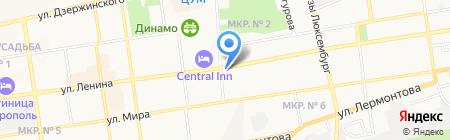 Богиня на карте Ставрополя