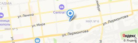 Офисы Мира на карте Ставрополя