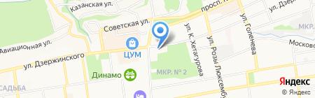ГУ МВД России по Ставропольскому краю на карте Ставрополя