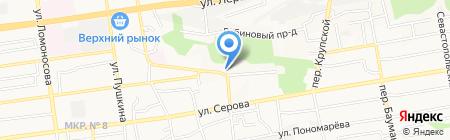 Здоровые Люди на карте Ставрополя