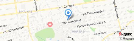 Детский сад №69 на карте Ставрополя