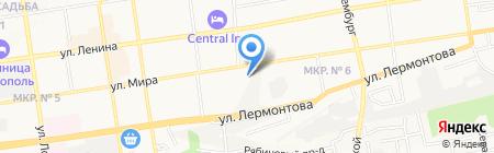 Ставропольский центр социальной помощи семье и детям на карте Ставрополя