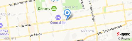 ЮГ-ЦТ на карте Ставрополя