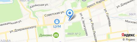 СКМИИ на карте Ставрополя