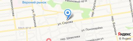 Союзпечать на карте Ставрополя