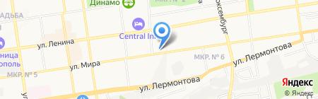 Адвокатский кабинет Абазова А.Х. на карте Ставрополя