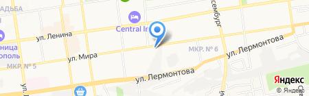 Банкомат Хоум Кредит энд Финанс Банк на карте Ставрополя