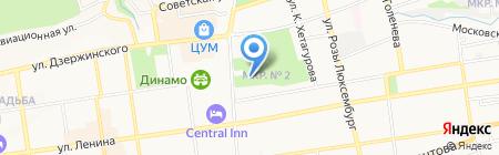 Панорама на карте Ставрополя