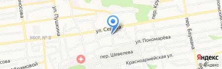 Романия на карте Ставрополя