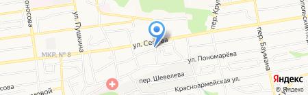 Виктория на карте Ставрополя