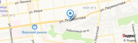 Автоплюс 2 на карте Ставрополя