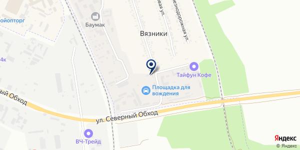 Центр-окна на карте Вязниках