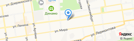 Центр дополнительного образования детей Ленинского района г. Ставрополя на карте Ставрополя