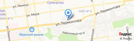 КЕГ служба на карте Ставрополя