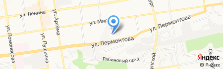 Детский сад №45 на карте Ставрополя