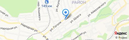 Дарья на карте Ставрополя