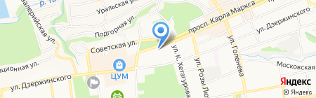 Отдел социальных программ и проектов на карте Ставрополя