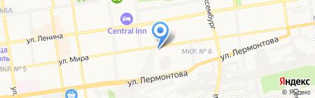 Стройсервис на карте Ставрополя