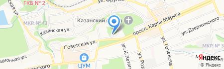 Детская музыкальная школа №2 на карте Ставрополя