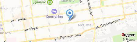 Ставропольсельхозздравница на карте Ставрополя