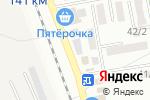 Схема проезда до компании Сласти от Насти в Михайловске