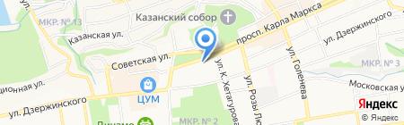 Incity на карте Ставрополя