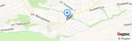 Мамайка на карте Ставрополя