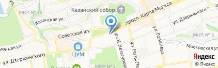 РИВ ГОШ на карте Ставрополя