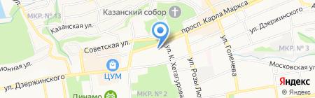 ALLURE на карте Ставрополя