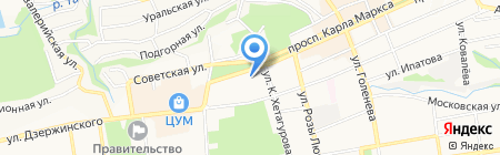 AngeloHair на карте Ставрополя