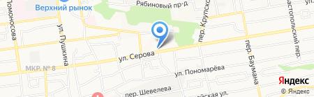 Общежитие Ставропольский кооперативный техникум экономики на карте Ставрополя