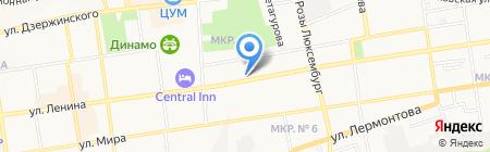 Магазин дверей на карте Ставрополя
