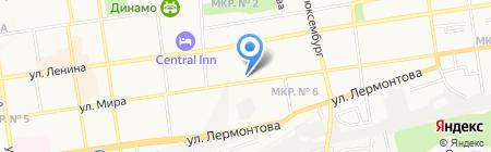 Ставропольский краевой центр лечебной физкультуры и спортивной медицины на карте Ставрополя