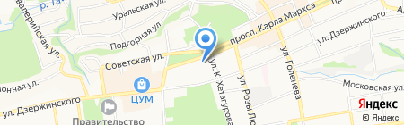 Apple Android Market на карте Ставрополя
