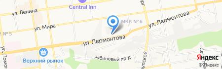 Главное следственное управление на карте Ставрополя