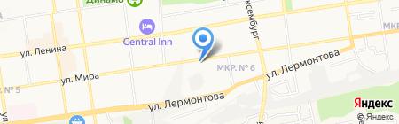Мир-266 на карте Ставрополя
