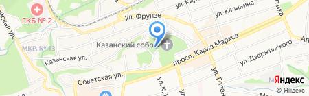 Пожарная часть №8 на карте Ставрополя