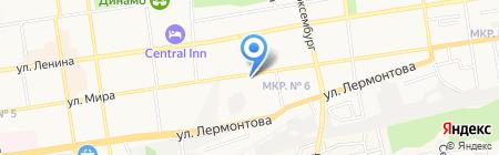 Улыбка на карте Ставрополя