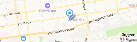 Комстар на карте Ставрополя