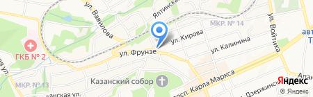 Спасо-Преображенский реабилитационный центр на карте Ставрополя