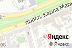 Схема проезда до компании Гиппократ в Ставрополе
