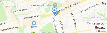 Оникс на карте Ставрополя