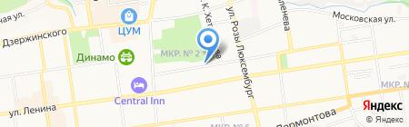 Детский сад №40 на карте Ставрополя